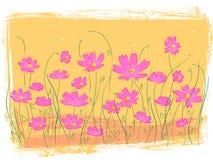 Giardino di fiore dentellare Immagine Stock Libera da Diritti