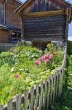 Giardino di fioritura degli agricoltori Immagine Stock Libera da Diritti