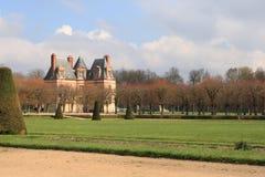 Giardino di Fontainebleau fotografie stock libere da diritti