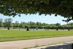 Giardino di Fontainebleau, Francia fotografia stock libera da diritti