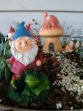 Giardino di Gnome Immagine Stock Libera da Diritti