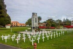 Giardino di governo del Distretto di Rotorua Fotografia Stock