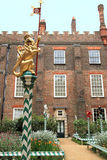 Giardino di Hampton Court Palace fotografia stock