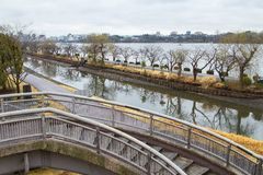 Giardino di Kairakuen Immagine Stock Libera da Diritti