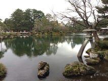 Giardino di Kenrokuen Fotografie Stock Libere da Diritti