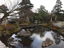 Giardino di Kenrokuen Fotografia Stock