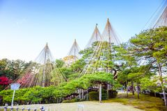 Giardino di Kenrokuen immagini stock libere da diritti