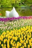 Giardino di Keukenhof, Olanda Fotografia Stock
