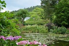 Giardino di Monet, Giverny, Francia Immagini Stock