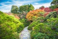 Giardino di Okochi Sanso immagini stock