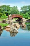 Giardino di Osaka in Chicago fotografia stock libera da diritti