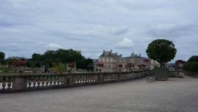 Giardino di Parigi fotografia stock