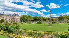 Giardino di Parigi, Lussemburgo fotografia stock