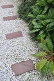 Giardino di pietra Immagine Stock