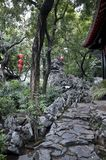 Giardino di Qinghui Fotografia Stock