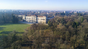 Giardino di Reale della villa, Monza, Italia Fotografia Stock Libera da Diritti