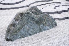Giardino di rocce o giardino giapponese di zen al tempio di Enkoji a Kyoto, Giappone Fotografie Stock