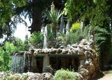 Giardino di rocce vicino alla chiesa di naum della st Immagini Stock