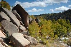 Giardino di roccia Fotografia Stock