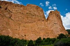 Giardino di roccia rosso dei dei Fotografia Stock Libera da Diritti