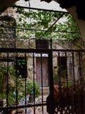 Giardino di Segret nel quarto armeno a Gerusalemme Fotografia Stock Libera da Diritti