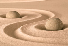 Giardino di spiritualità di zen Immagini Stock Libere da Diritti