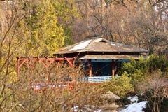 Giardino di stile giapponese Immagine Stock
