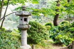 Giardino di stile giapponese a Hiroshima, Giappone immagine stock