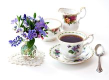 Giardino di tè inglese Immagine Stock Libera da Diritti