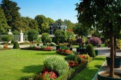 Giardino di Vienna Schonbrunn, Austria Immagini Stock