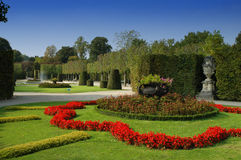 Giardino di Vienna Schonbrunn, Austria Fotografia Stock