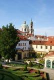 Giardino di Vrtbovska a Praga Immagini Stock Libere da Diritti