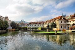 Giardino di Wallenstein, Praga Fotografia Stock Libera da Diritti
