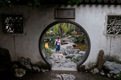 Giardino di YuYuan Fotografia Stock Libera da Diritti
