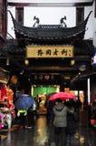 Giardino di Yuyuan, Città Vecchia, Shanghai, Cina Fotografia Stock Libera da Diritti