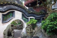 Giardino di Yuyuan, Pudong, Shanghai, Cina Fotografia Stock