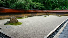 Giardino di zen Fotografia Stock Libera da Diritti