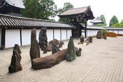 Giardino di zen Fotografie Stock Libere da Diritti
