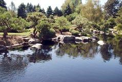 Giardino di zen in Co; orado Immagine Stock