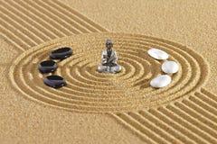 Giardino di zen del Giappone immagine stock