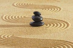 Giardino di zen del Giappone Fotografia Stock Libera da Diritti
