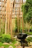 Giardino di zen di rilassamento Fotografia Stock Libera da Diritti