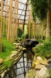 Giardino di zen di rilassamento Immagini Stock