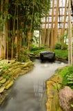 Giardino di zen di rilassamento Immagini Stock Libere da Diritti