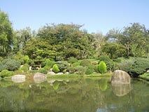 Giardino di zen a Tolosa, Francia Immagini Stock Libere da Diritti