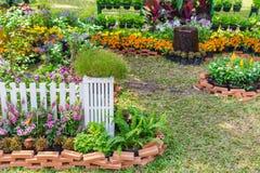 In giardino domestico fotografia stock