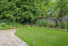 Giardino domestico Fotografie Stock