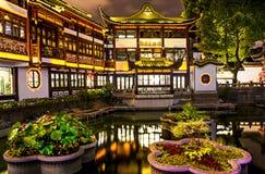 Giardino e bazar di Yu Fotografia Stock