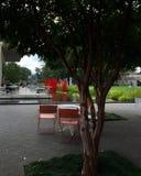 Giardino e patio Immagine Stock