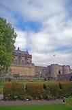 Giardino ed il castello Fotografia Stock Libera da Diritti